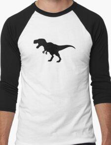 Dinosaur T-Rex Men's Baseball ¾ T-Shirt
