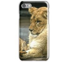 Nap Time With Family iPhone Case/Skin