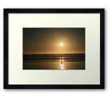 Childs Play at the Beach, 2007 Framed Print