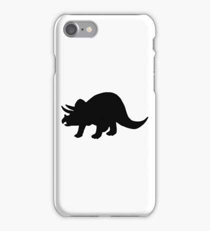 Dinosaur triceratops iPhone Case/Skin