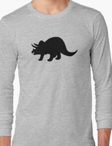 Dinosaur triceratops Long Sleeve T-Shirt