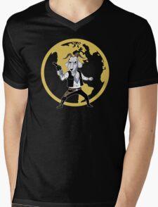 Goat Solo Mens V-Neck T-Shirt