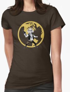 Goat Solo Womens Fitted T-Shirt