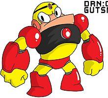 Megaman Robot Master - Gutsman by joseph keen