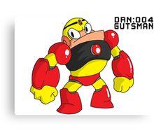 Megaman Robot Master - Gutsman Canvas Print