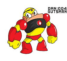Megaman Robot Master - Gutsman Photographic Print