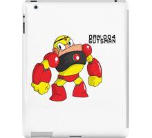 Megaman Robot Master - Gutsman iPad Case/Skin