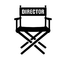 Director's chair Photographic Print
