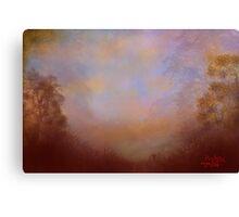 Restful Autumn Canvas Print