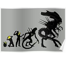 Alien Evolution (NO TEXT) Poster