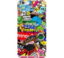 Sticker Bomb Collaboration iPhone Case/Skin