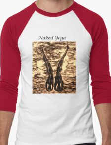 Naked Yoga Men's Baseball ¾ T-Shirt