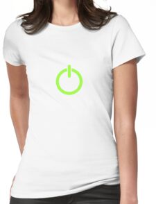 Power Up! Womens Fitted T-Shirt