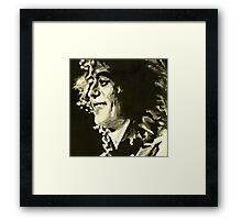 Jimmy Page. Rock Music Genius  Framed Print