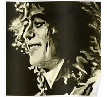 Jimmy Page. Rock Music Genius  Poster