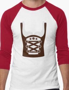 Dirndl Oktoberfest Men's Baseball ¾ T-Shirt