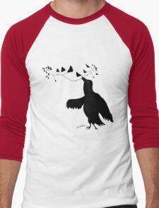 Smart Bird Men's Baseball ¾ T-Shirt