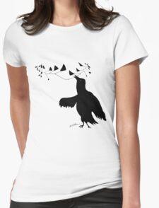 Smart Bird Womens Fitted T-Shirt