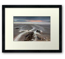 SeaLines Framed Print