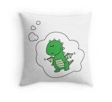 Imagine Dragons - Cartoon Version! Throw Pillow