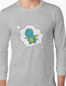 Imagine Dragons - Blue Cartoon Version! Long Sleeve T-Shirt