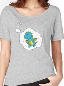 Imagine Dragons - Blue Cartoon Version! Women's Relaxed Fit T-Shirt