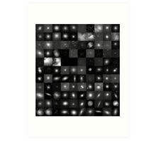 Messier Image Map Art Print