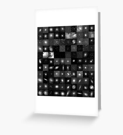 Messier Image Map Greeting Card