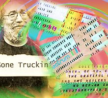 Grateful Dead - Gone Truckin' by Polly Peacock