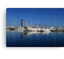 Southport Yacht Club. Gold Coast, Qld, Australia. Canvas Print