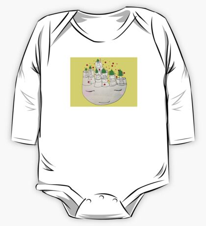 christmas thoughts One Piece - Long Sleeve