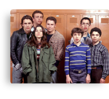 Freaks and Geeks Cast Canvas Print