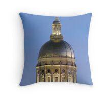 Georgia State Capitol Throw Pillow