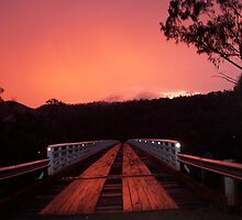 Does the bridge cease when the sunsets? by GeoGecko