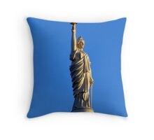 Miss Freedom Throw Pillow