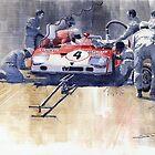 Targa Florio 1972 Alfa Romeo T33 TT3  by Yuriy Shevchuk