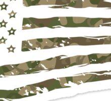 Camo Flag 1  Sticker
