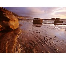 Clearing at Dawn, Coalcliff Beach Photographic Print