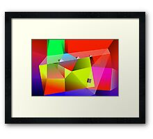 Three Planes Framed Print
