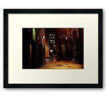 STREET SMART (THE UPSIDE OF DOWN) Framed Print