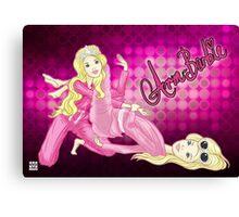 Arm-Barbie Canvas Print