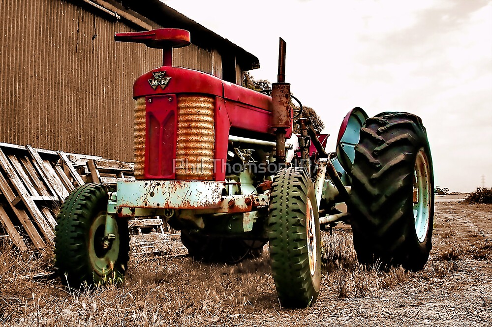 """The Massey Ferguson"" by Phil Thomson IPA"