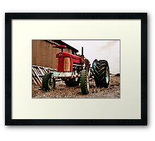 """The Massey Ferguson"" Framed Print"