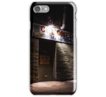 Come to the Side Door at Midnight iPhone Case/Skin