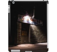 Come to the Side Door at Midnight iPad Case/Skin
