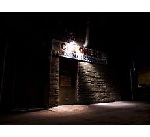 Come to the Side Door at Midnight Photographic Print