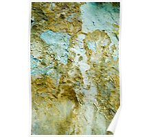 Yellow and Blue Rocks #1 Poster