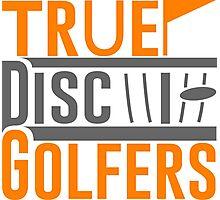 True Disc Golfers Photographic Print
