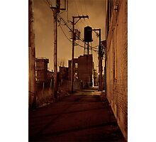 STREET SMART (WATER TOWER ALLEY) Photographic Print