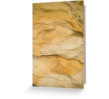 Yellow Rocks #4 Greeting Card